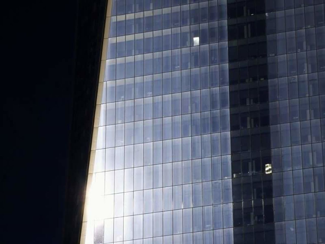 architecture, modern, built structure, low angle view, no people, window, building exterior, skyscraper, day, illuminated, sky, outdoors, city