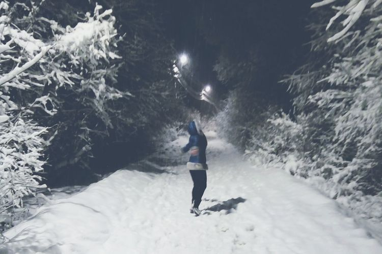 Athlete Snow