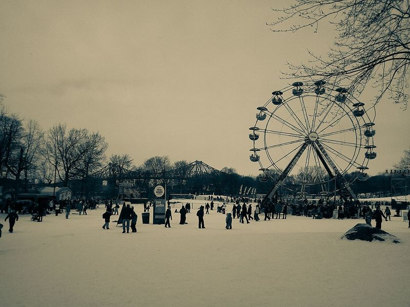 People Sky Outdoors Filter Monochrome Photography Winterfest