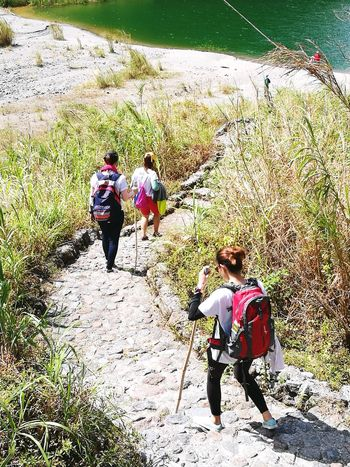 Adventure Trekking Sunlight Outdoors Crater Lake Connected By Travel Lost In The Landscape Perspectives On Nature Go Higher