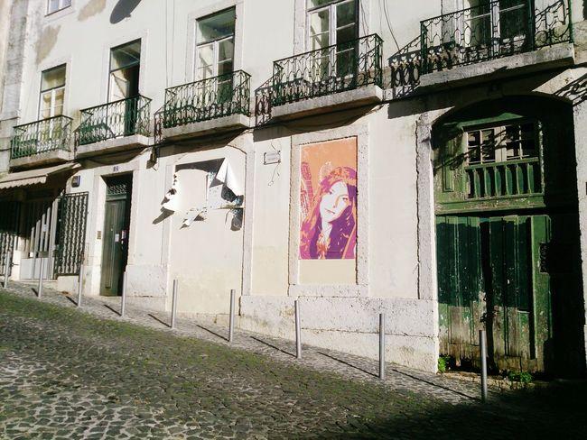 Lisboa Street Art Lisbon Vintage Houses Abandoned Buildings