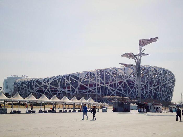 2008 Architecture Beijing Birdnest Building City Olympics