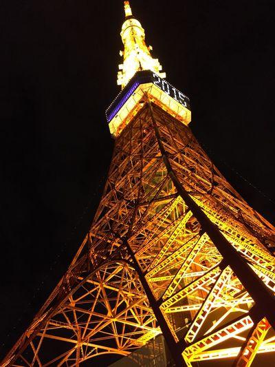 久しぶりの東京タワー。 Tokyo Tower
