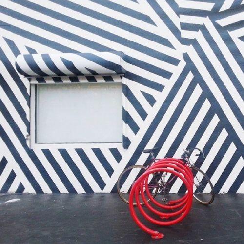 Repost Blackandwhite Geometric Streetart