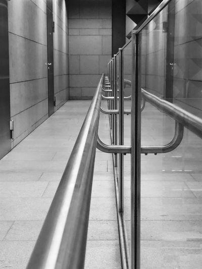 Interior of subway station