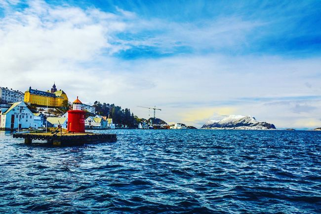 Looking out to sea from Alesund harbour Check This Out Hello World Taking Photos Norge Islands Bhullarsworld Ålesundkommune Opplevålesund City Town Ålesund, Norway Fort Bhullar Visitnorway House Of Bhullar Ships Enjoying Life Lighthouse