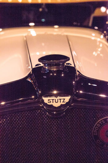 Naples, Florida, USA – May 5, 2018: White 1928 Stutz Black Hawk Boattail Speedster displayed at The Revs Institute in Naples, Florida. Editorial use only. 1928 Black Hawk Boattail Speedster Classic Car Old Cars Restoration Car Convertible Convertible Car Luxury Luxury Car Motor Vehicle No People Old Car Speedster Stutz Vintage Vintage Car Vintage Cars