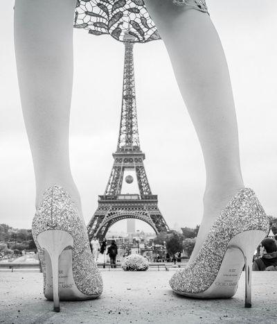 When we were in Paris. Jimmychoo Effel Tower Paris France 🇫🇷