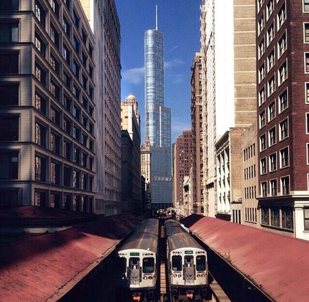 Parallel Symmetry Architecture_collection Chicago The Traveler - 2015 EyeEm Awards Architecture EyeEm Best Shots Check This Out Cityscapes Sky Travelphotography
