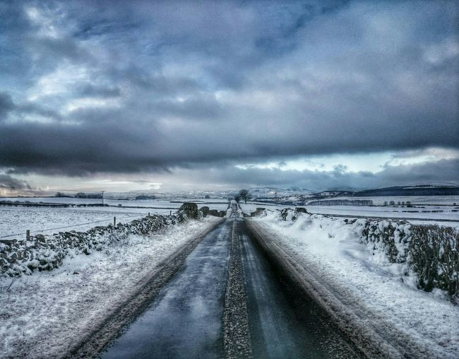 Looking towards Shap, on my way to work.