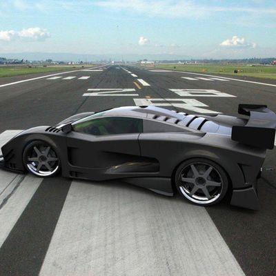 Mile Dragrace Car Noeffect Adrenaline