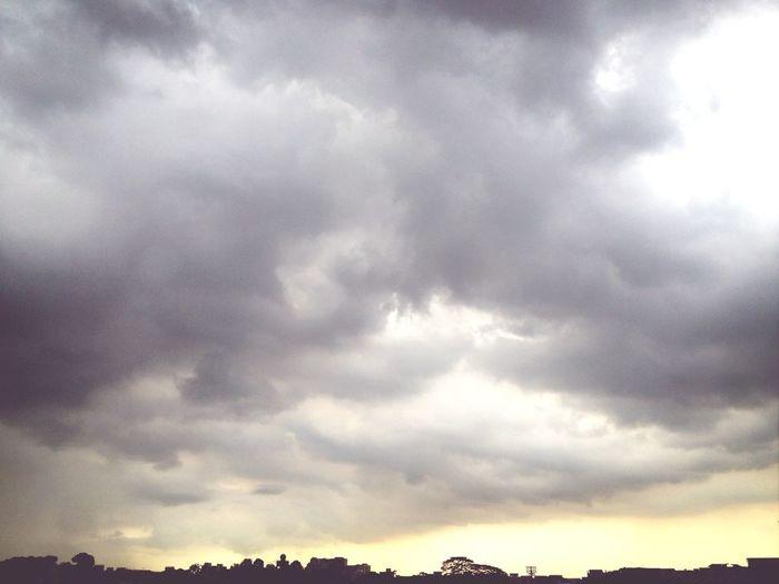 Rain In June Raining Grey Sky