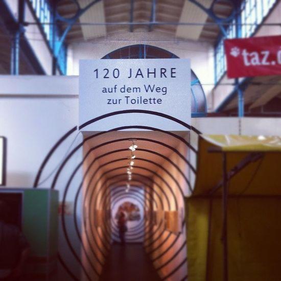 120 Years Of Toilett development exhibition of the year in berlin kreuzberg markthalle