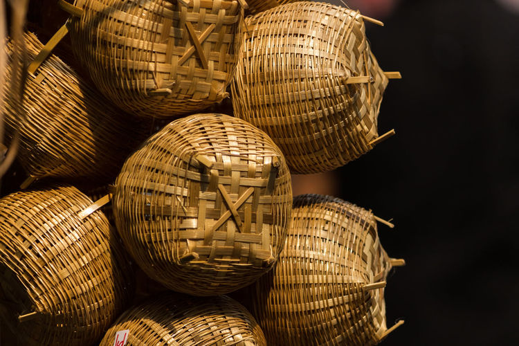 Basketball Basket Celebration Close-up Day Handicraft Handicraft Work Large Group Of Objects No People Outdoors Weaving