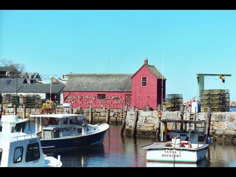 Rockport Massachusetts Rockport Ma Rockport Harbor Motif 1