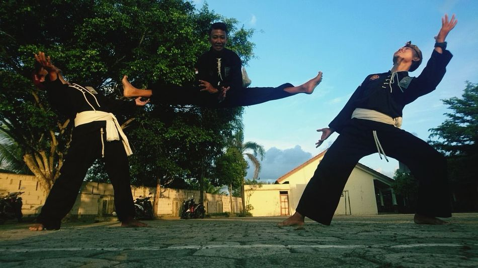 pencak silat psht Martialarts Silatindonesia Silat Pencak Silat 50 Ways Of Seeing: Gratitude Friendship Full Length Tree Motion Jumping Fun Activity Stunt Vitality Togetherness