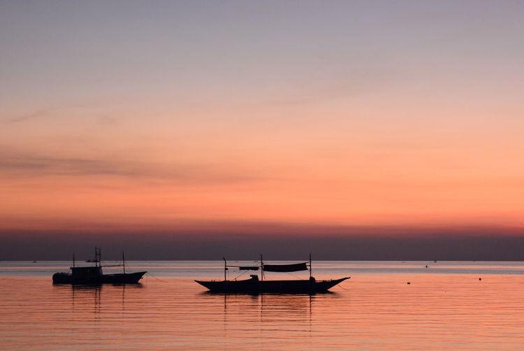 Afterglow. boracay island. western visayas. philippines