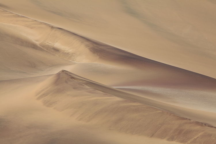 Full frame shot of sand dunes at naukluft national park
