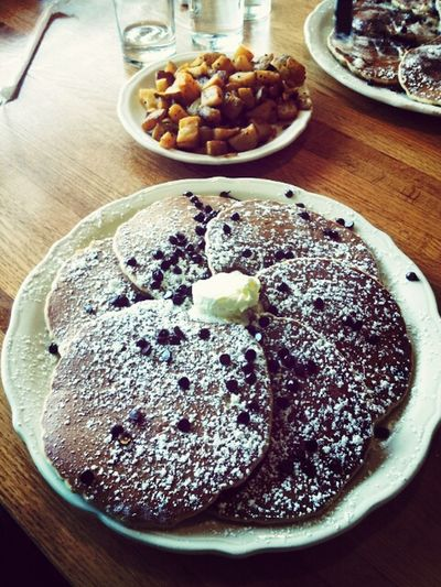 Talk about Chocolate Pancakes ! Food Porn