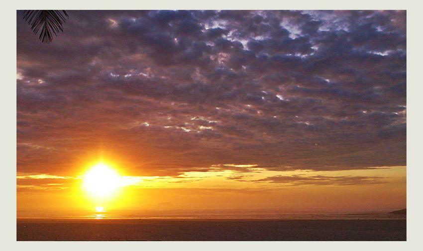 Sunset #sun #clouds #skylovers #sky #nature #beautifulinnature #naturalbeauty #photography #landscape EyeEm Best Shots - Sunsets + Sunrise Landscape_Collection Beachphotography