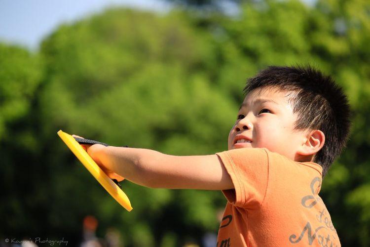 My Son Catch Fun Times Portrait Picnic Playing Playground 昭和記念公園 EyeEm Best Shots EyeEm