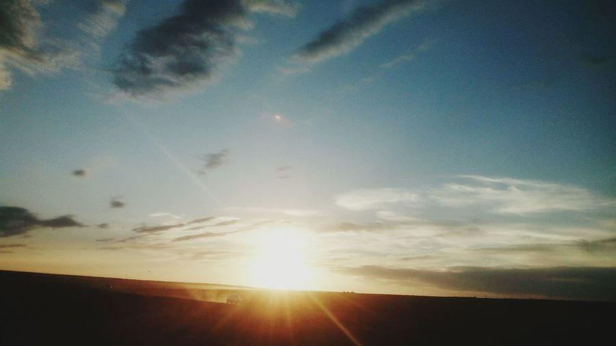 Вечерний закат First Eyeem Photo