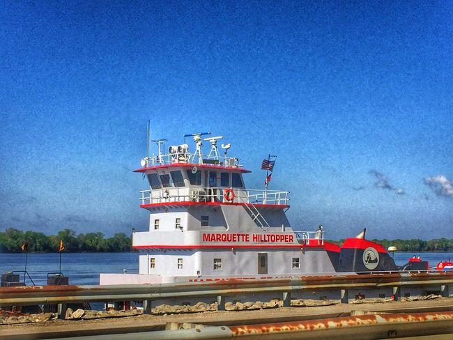 Rollin on the river Mississippi River Tugboat