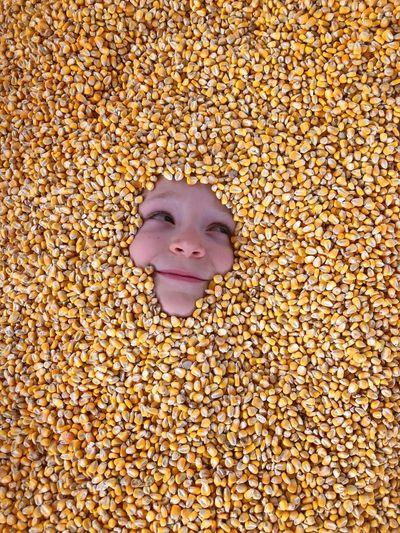 Rethink Things Corn Harvest Yellow Hide And Seek Visual Creativity The Portraitist - 2018 EyeEm Awards