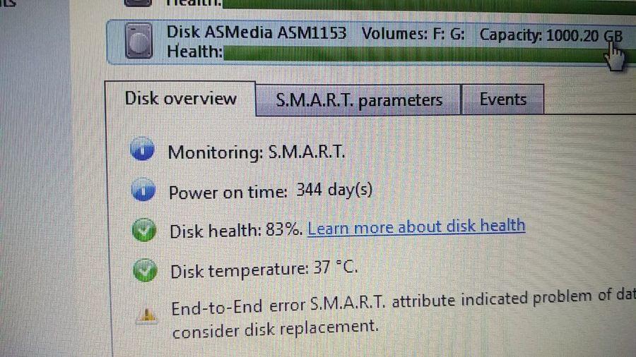 """""""sisi, l'hard disk è nuovo, non ti preoccupare"""" ..."""