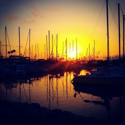 Sunset Oceanside Harbor