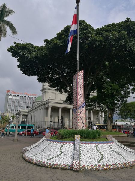 Bandera Costa Rica Adolfo Rodriguez