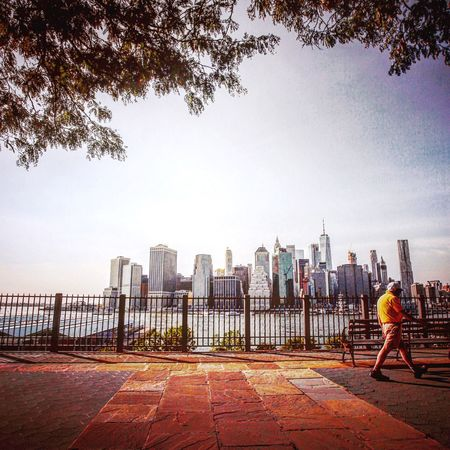 Thepromenade DUMBO, Brooklyn Eastriver New York City