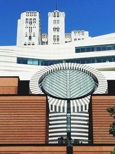 San Francisco San Francisco Museum Of Modern Art Architecture Architecture_collection Architecture Black & White Black White Blue Modern Architecture Museum Museum Of Modern Art