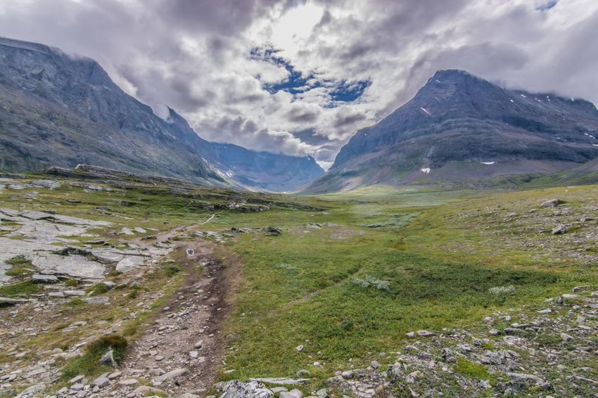 Mountain Landscape Beauty In Nature Sky Nature Travel Mountain Range Wilderness Outdoors Scenery Sweden Fjallravenclassic Walking Leisure Activity Hiking Nature