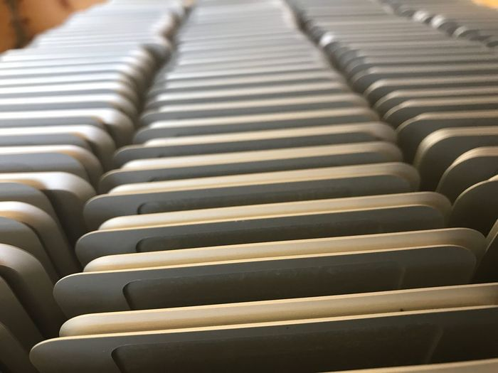 In A Row Indoors  No People Day Close-up