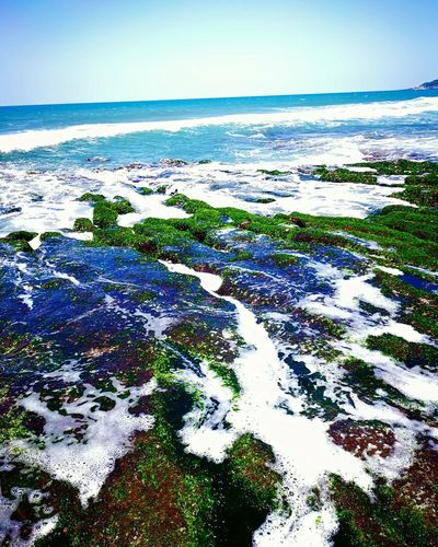 Sea Beach Landscape Horizon Over Water Water Scenics Outdoors Nature No People Sky Day Beauty In Nature Underwater Blue UnderSea Close-up