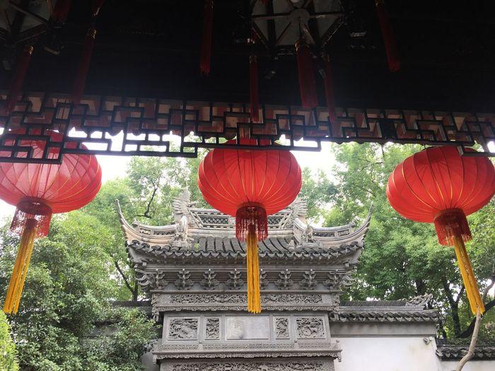 🏮🏮🏮 Chinese Lantern Lantern Architecture Old China Shanghai, China