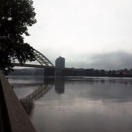 Bridge Water Reflections Monochrome Blackandwhite Hipstamatic IPhoneography