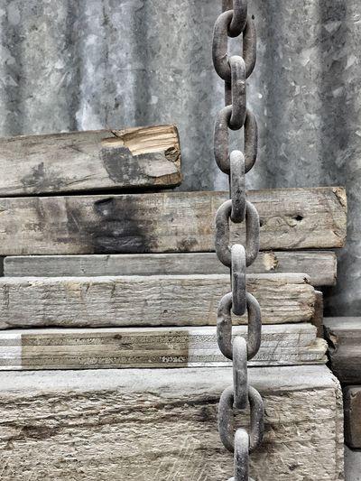Wood Timber Chain Metal Links Sold Photo On Eyeem Market