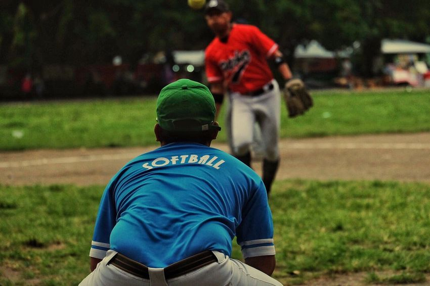 You n me.. Outdoors Sports Team Ball Fujifilm Fujixa1 Day Fun Streetphotography Sports Photography Softball