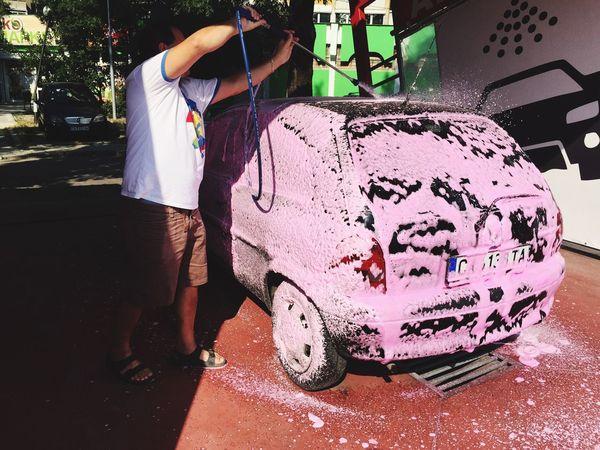 Carwash Carwashing