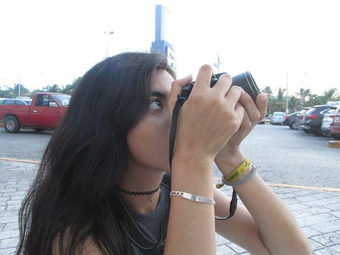 Camera Cancun Canon City Day Nikon One Person Woman