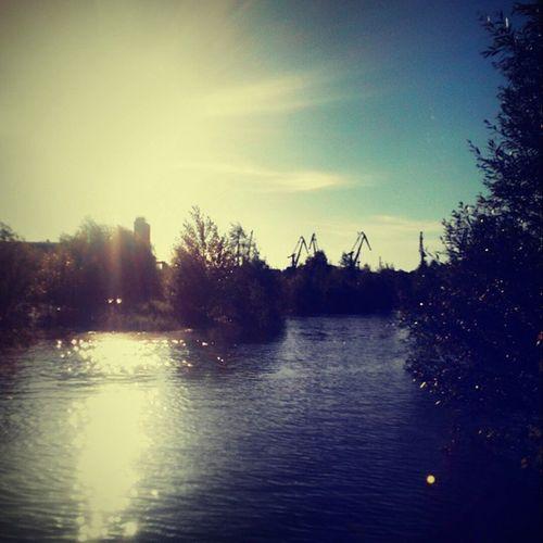 Omsk Siberiansummer Siberia Irtysh River Port Sunset омск сибирскоелето сибирь порт река Иртыш Закат вечернийомск