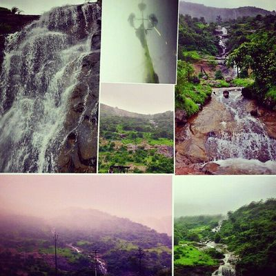 Water Fall BIG Stone Hill Station Lonavala Pune Heavy Rain Mostly Foggy Weather Enjoy Sunday Evening Shoot Wid Galaxy Note-2 PicOfTheDay ....