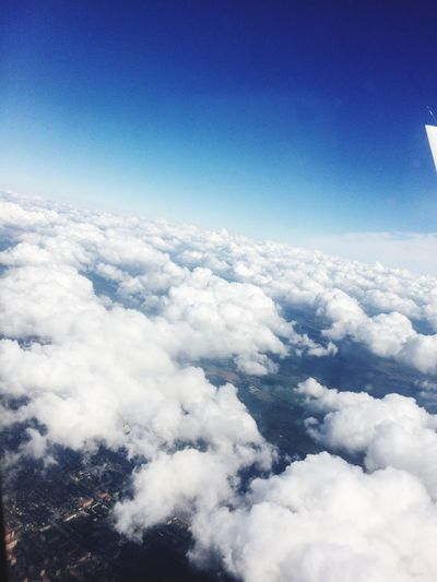 Fly Sky Clouds