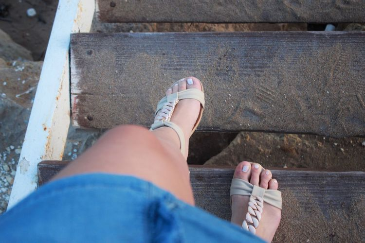 Low Section Human Leg Human Foot Personal Perspective Sandal Only Women Outdoors Human Body Part One Person One Woman Only Standing Adult Shoe Day The Great Outdoors - 2017 EyeEm Awards EyeEmNewHere Directly Above Adults Only High Angle View People Sitting Women The Week On EyeEm Done That. Go Higher