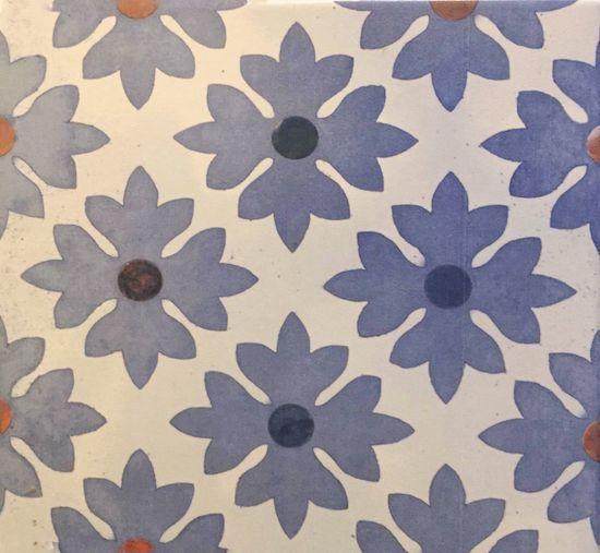 Seamless floral pattern,background vintage flower on tile Art Mosaic Textile Wall Style Texture Portugal Ornaments Blue Decoration Design Pattern Wrapping Illustration Wallpaper Vintage Tile Tiles Flower Floral Design Backgrounds Art And Craft Seamless Pattern