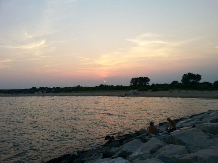 Tramonto;sole;cielo Tramonto Bellezza Mare