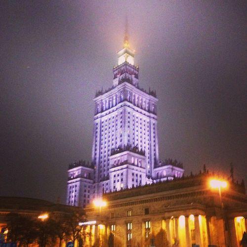 Warsaw Nightphotography Shopping ♡ amazing