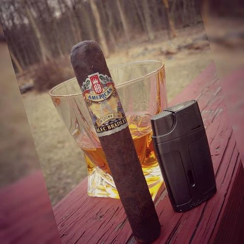 When your heart breaks and you need time to reflect on life or escape for a bit...@alecbradleycigar and a great bourbon fit the bill. Fresh air, woods and 78 degress in Pa in March! Cigarlovers Bourbon Cigarsociety Botl Sotl Stogies Life